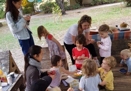 公園でお祝いするのが楽しい、ドイツの誕生日会【日登美のオーガニック子育て@ベルリン】