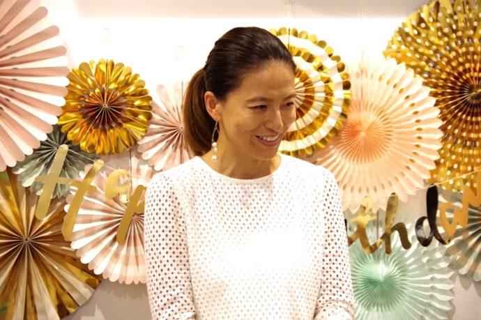 e47c1c0b20b14 と話すのは、楽天市場でママたちに大人気のパーティー専門店「リトルレモネード」から講師に来てくださった白松貴美子さん。