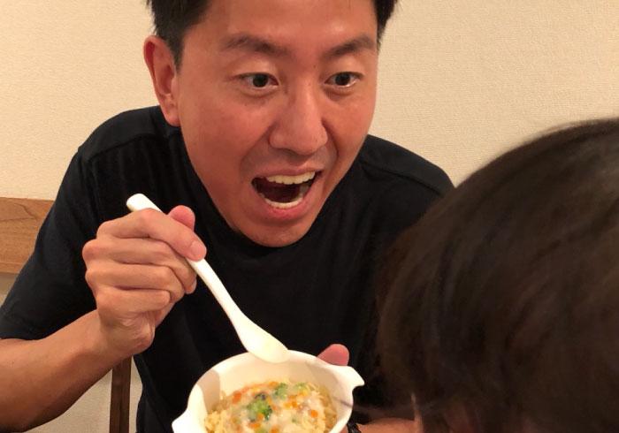 【チュートリアル福田の育児エッセイ・14】なぜか、僕のスリッパが好きみたいです
