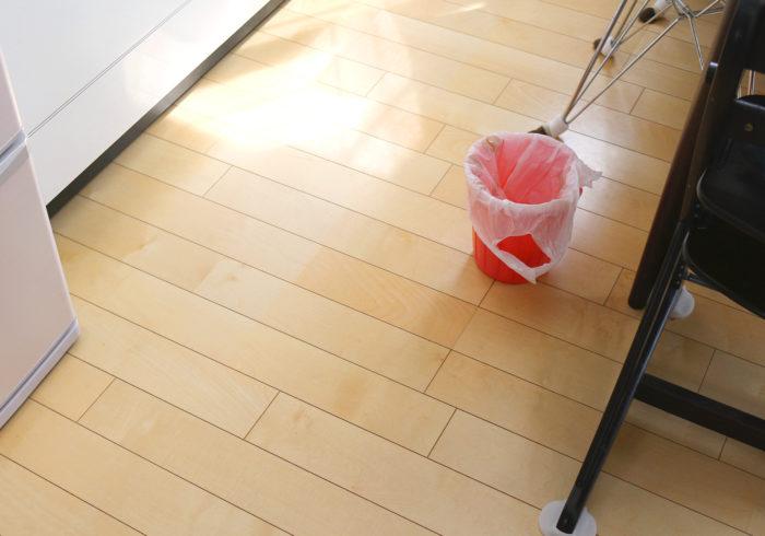 ゴミ箱、使うのをやめてみた!【ずぼらママの「ムダ家事、やめてみた」】