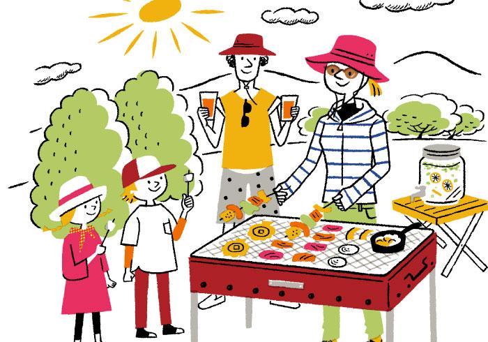 秋の紫外線を侮らないで! BBQ、紅葉狩り、運動会……、行楽シーズンは日焼けにご用心!