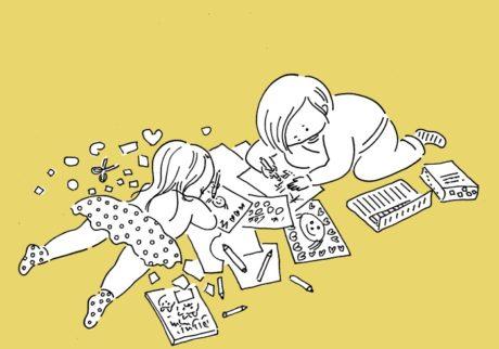 整理します! 「みとちゃんとさやちゃんの宝物」たちのゆくえは……?【山本祐布子の「子どものいる風景」】