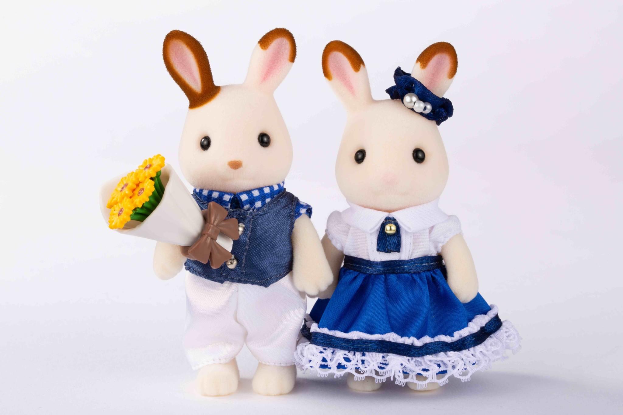 10展覧会限定人形 キュートカップル