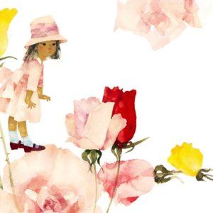ちひろ美術館・東京で春を先取り!「ちひろのキッズファッション」展開催中