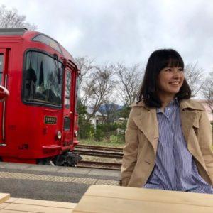 <span>親子で鉄分補給♪</span> 九州内を走る魅力ある観光列車のひとつ「特急ゆふいんの森号」【ママ鉄・豊岡真澄の親子でおでかけ】