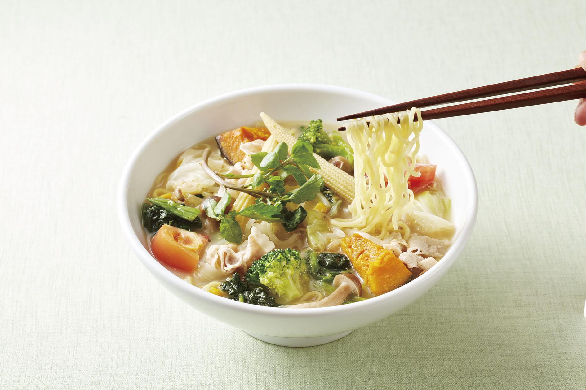 【ジョナサン】1日分の野菜が摂れる!ベジタンメン(糖質0麺に変更)(1)