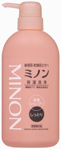 ミノン全身シャンプー(しっとりタイプ)450ml