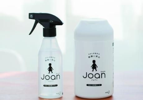 """家中のいろんな場所に使える! やさしさ処方のJoanで """" しっかり除菌 """"を毎日の習慣に。"""