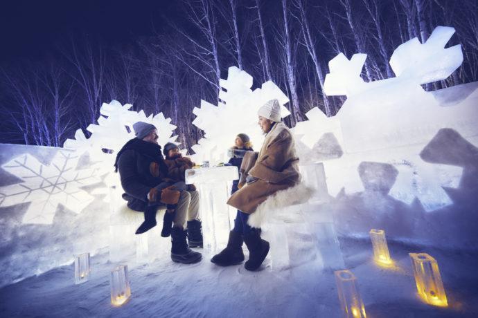 【トマム】氷のクリスタルパーク 家族