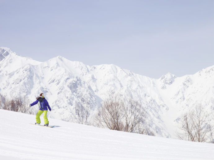 【界 アルプス】白馬五竜スキー場