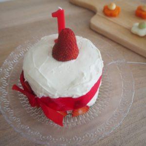 ショートケーキはまだ早い?1歳2歳のお誕生日ケーキは手作りしよう!