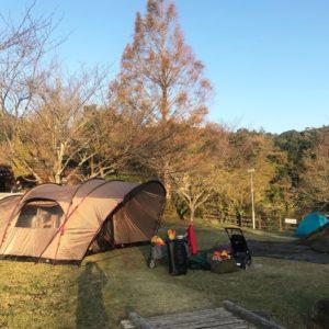 子連れで冬キャンプの極意!母目線でのキャンプ術をご紹介します。