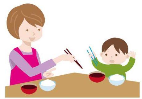 小学校入学前までに教えたい、正しいお箸の使い方