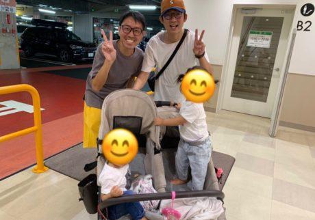 【チュートリアル福田の育児エッセイ・47】息子と二人でショッピングモールへ。偶然会ったのは……。