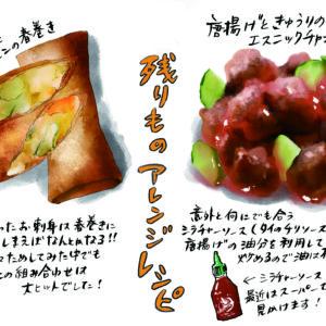 <span>どっちのレシピを試したい?</span> 【横峰沙弥香の「パパレシピ VS ママレシピ」】残りものでエスニックアレンジレシピ vol.1