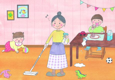 無理なくキレイをキープ! 子育て中のゆるラク掃除法4