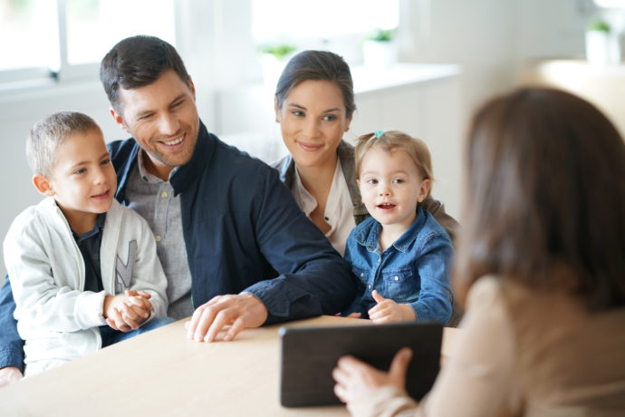 Family meeting financial adviser for house investment