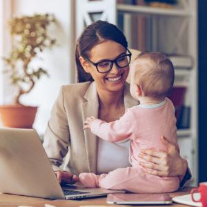<span>ママの気持ち、ホントのところ</span> 出産前と後、ズバリ仕事の内容は変化した?【ママの本音のYES&NO】