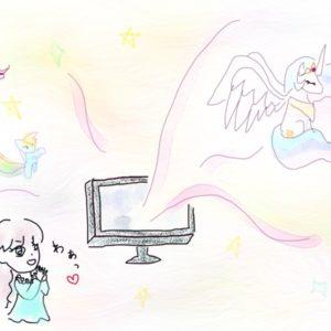 <span>テレビはおともだち</span> カラフルなポニーが女の子のハートをわしづかみ!「マイリトルポニー ~友達は魔法~」【テレビはおともだち】