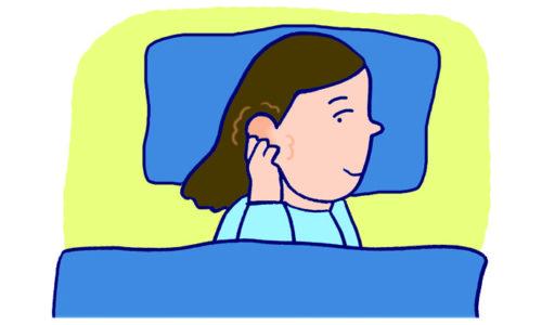 ママの睡眠を見直そう! 耳もみ