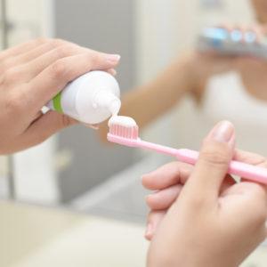 <span>3・4・5歳向け</span> 幼児のうちから始めよう! きれいな歯ならびのための習慣。