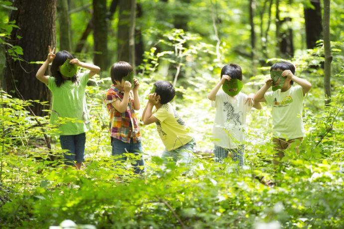 【リゾナーレ八ヶ岳】森いく