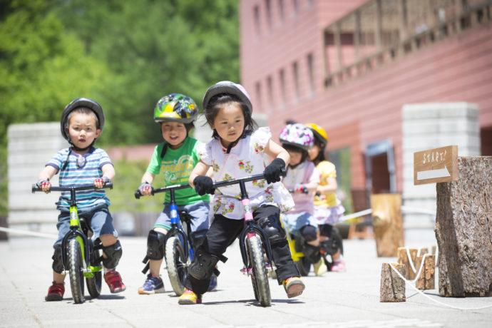 【リゾナーレ八ヶ岳】自転車ACT 未就学児向け