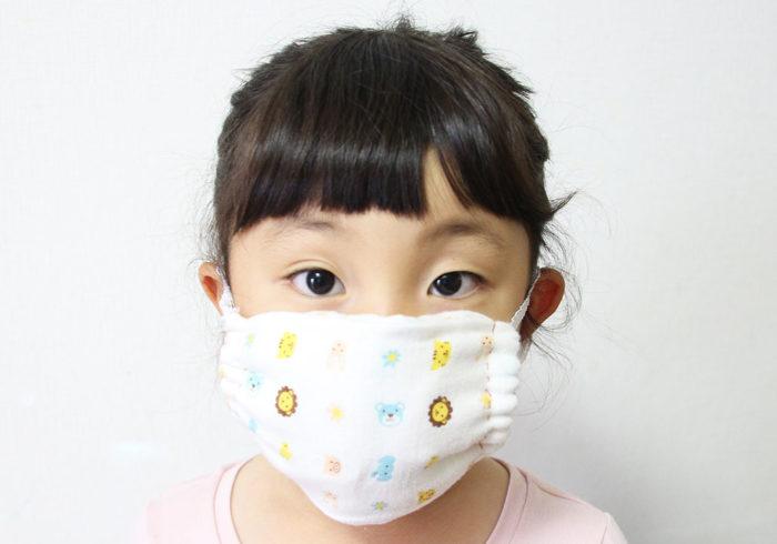 超簡単な手作りマスク!3か所縫うだけで不器用ママでもできちゃった!