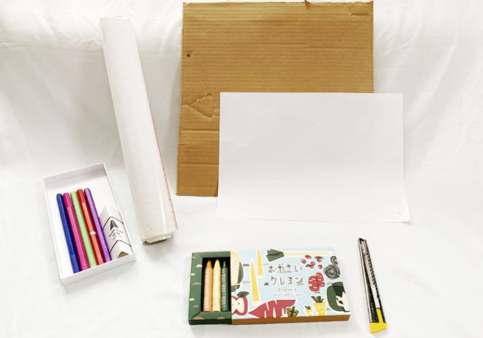 親と子で素材を使って「#おうち時間」を楽しもう!~世界にひとつだけパズルをダンボールで作ろう!~