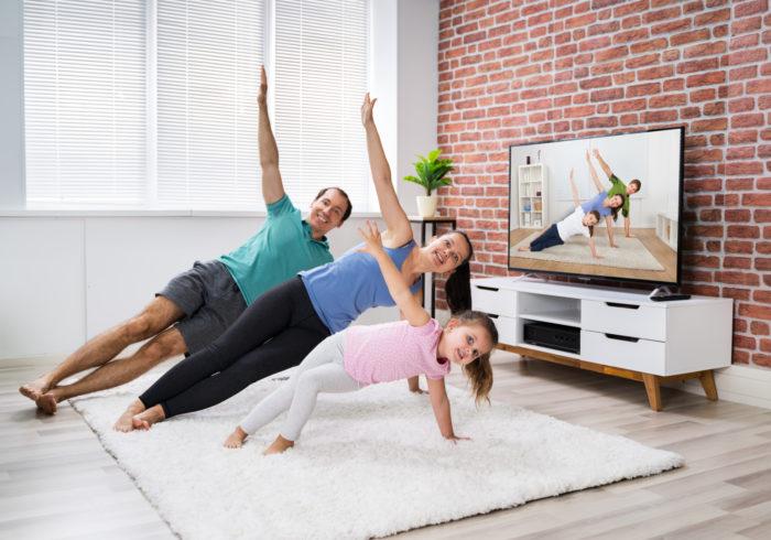 美しく健康的なママになる!家でできる簡単エクササイズ動画3選