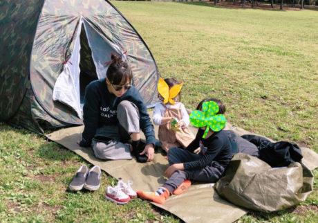 「ミキティの育児365日」vol.3 ママはキャンプに連れてくぞ!