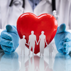 Family Cardiology And Medical Health Care Or Welfare