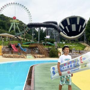 東京サマーランドで揖保乃糸フロートに乗って流しそうめん体験してみる?