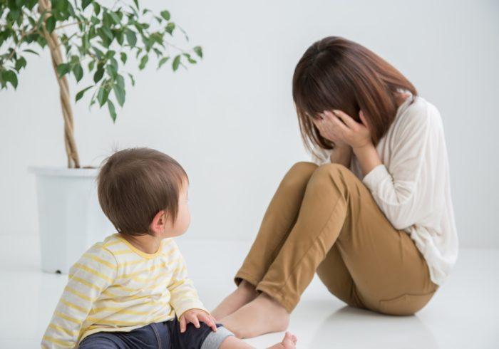 子育てがつらいのは「うつ」のせいかも?セルフチェックと対処方法を紹介