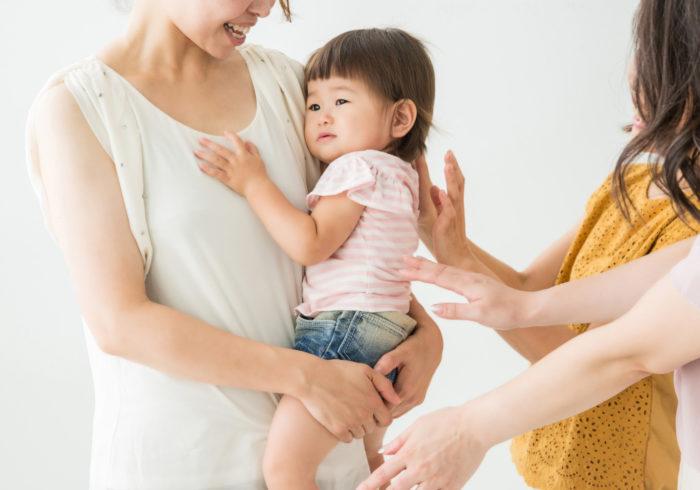 赤ちゃんの人見知り。原因と対策をご紹介