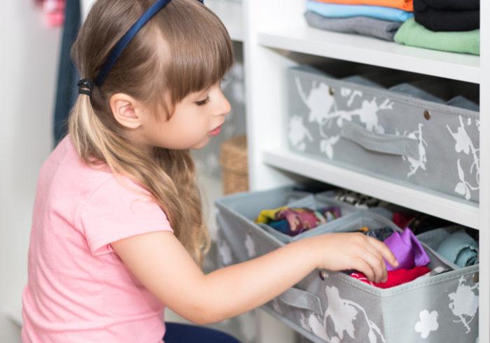 子供も出し入れできる!子供服の収納アイデア4選