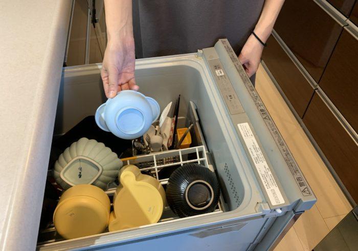 食器洗いは食洗機におまかせ♪ のススメ。【EICOママのラクやせメソッド・8】