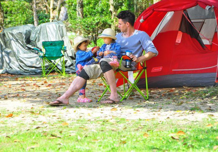 子育てにキャンプは持って来い!  な訳