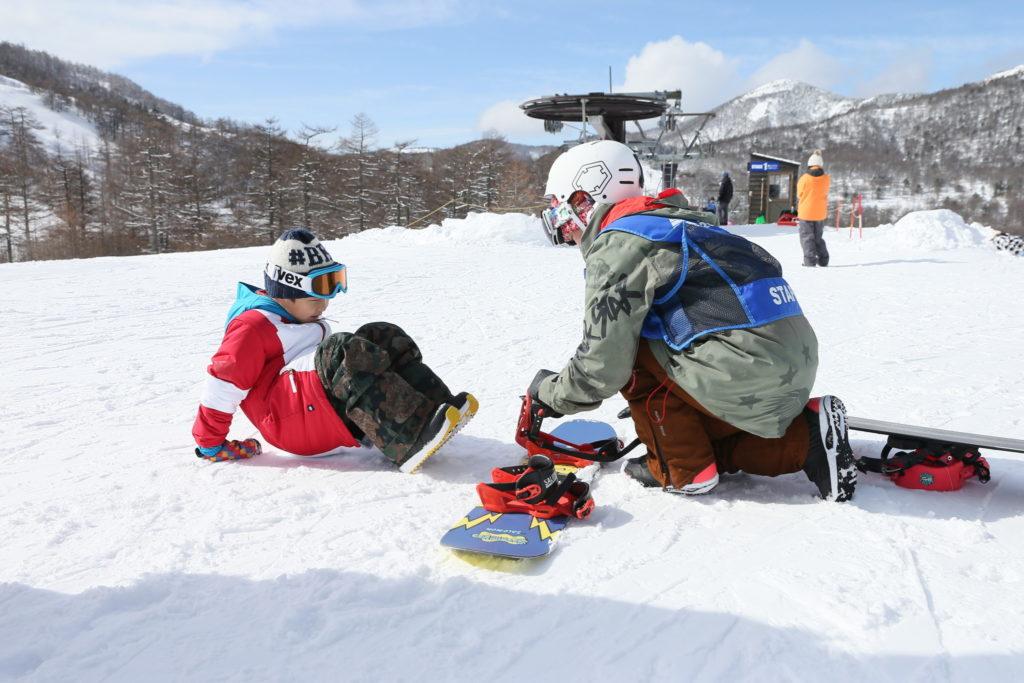 子連れスキー スキーデビュー