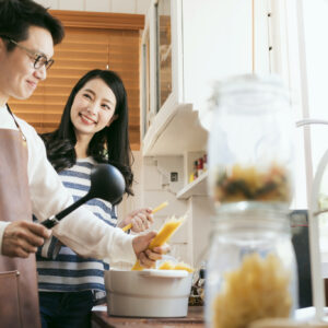 ポテサラ論争終結!?  夫に料理を作ってもらおう。