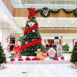 可愛さNo.1で注目はグランツリー武蔵小杉のお菓子モチーフのクリスマスツリー