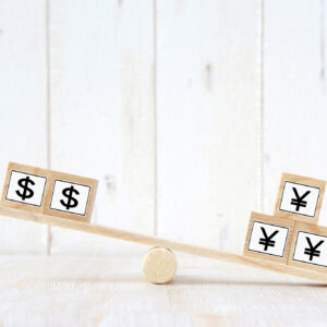 円とドルのバランスイメージ