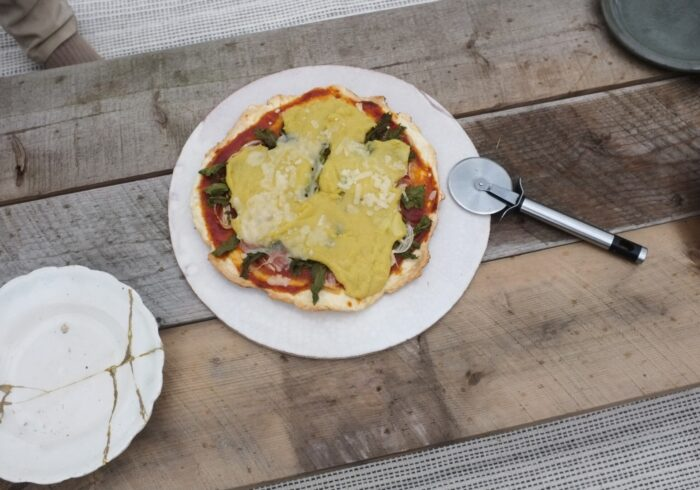 ヴィーガンチーズで春のピザ作り 【親子ではじめるエシカル暮らし・28】