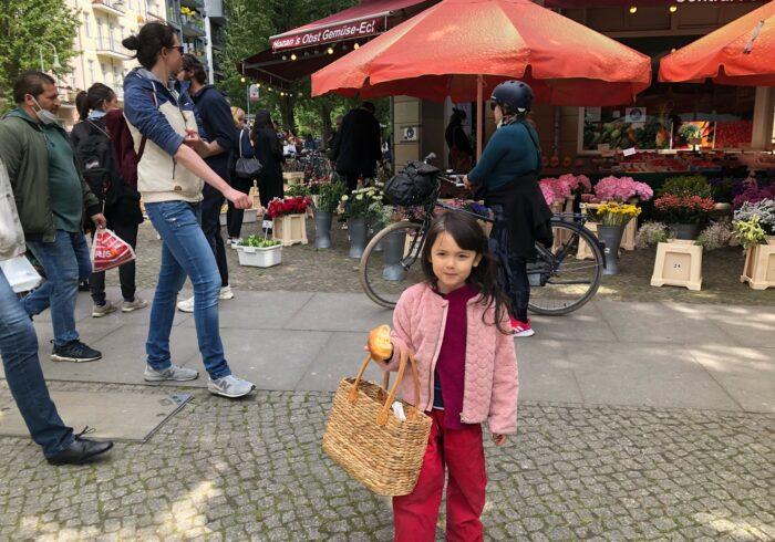 ベルリンスタイルのエコバッグ