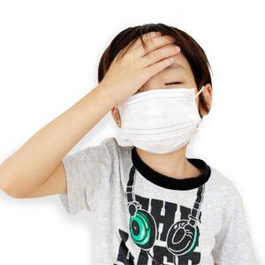 子供は熱中症リスクが高い?コロナ禍の熱中症、運動用マスクで対策を