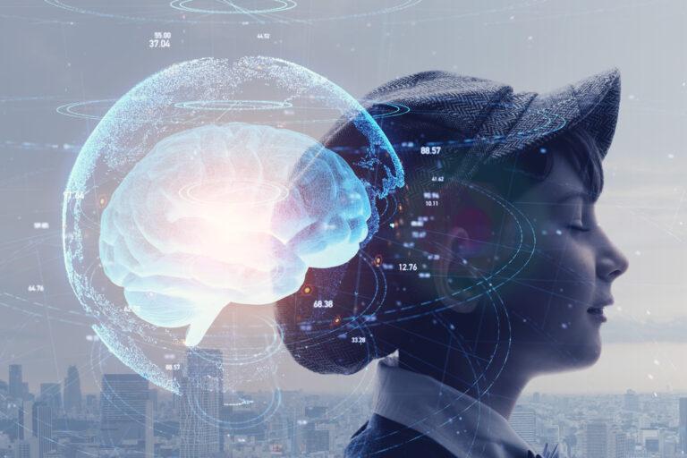 未来を描く子供の脳