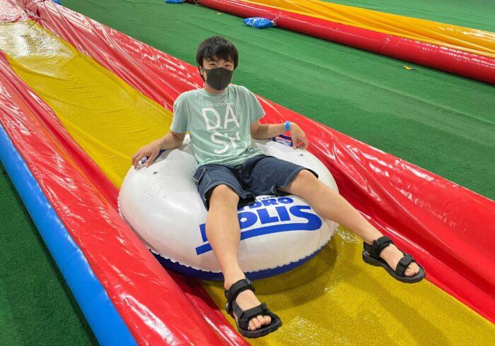 暑い夏はゲレンデスライダーで遊ぼう!