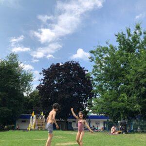 ドイツの夏、屋外での過ごし方。