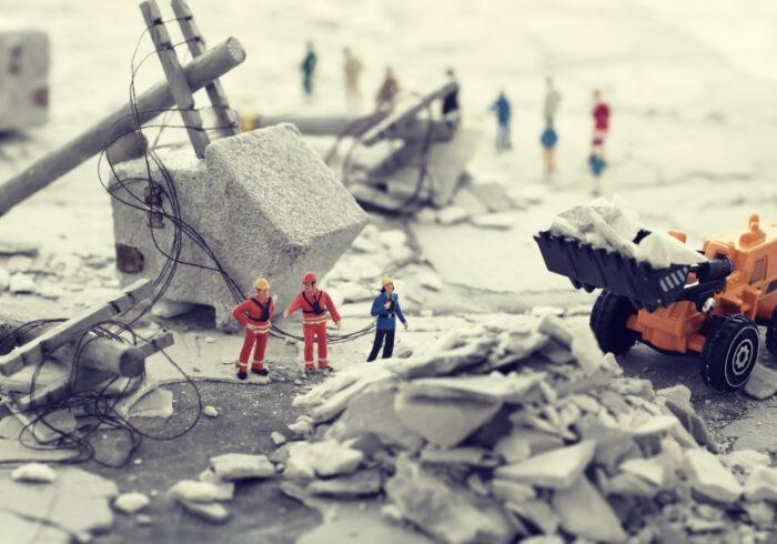 小さなお子さんがいる家庭向け防災ガイド「地震から身を守る⑤」