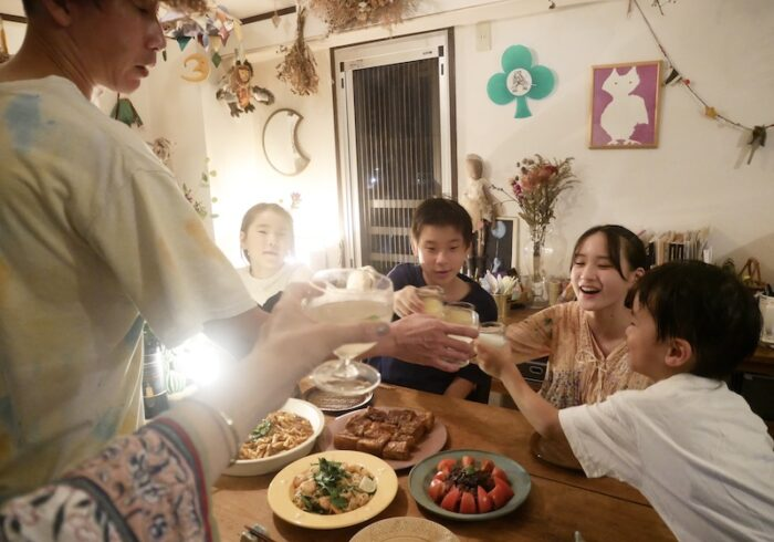夫と4人の子どもたちにたくさん祝ってもらった、母になって13回目のお誕生日